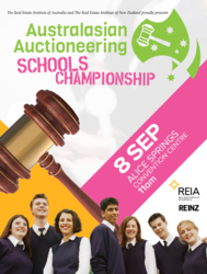 Inaugural Australasian Auctioneering Schools Championships Announced!