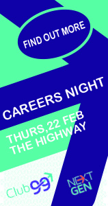 Careers Night - Side banner