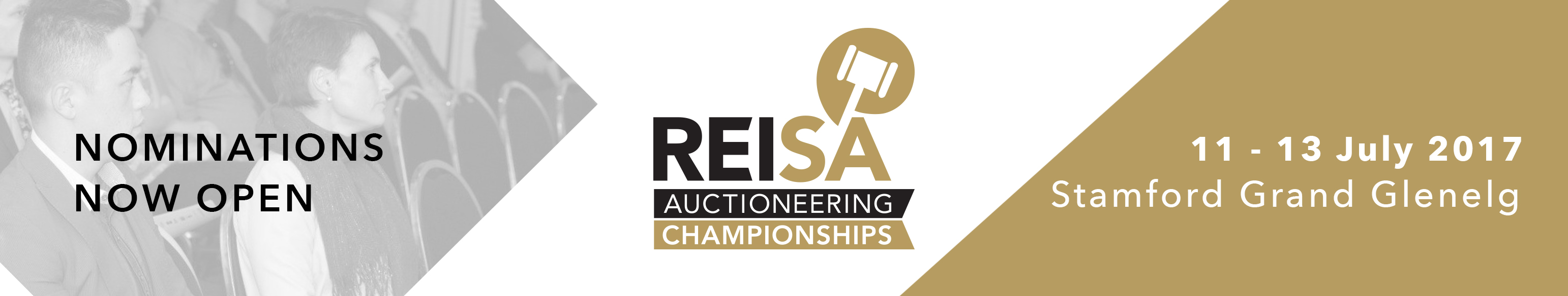 REISA Auctioneering Championship Nominations long banner